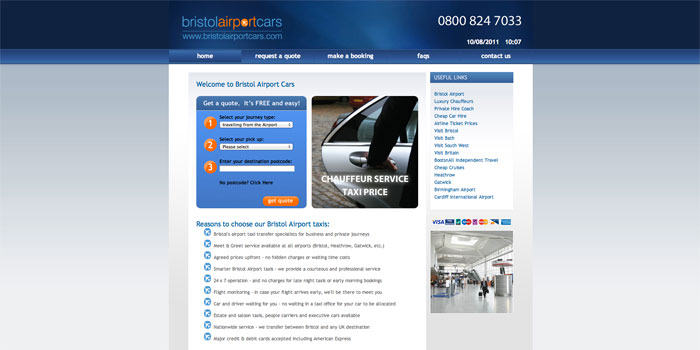 Bristol Airport Cars